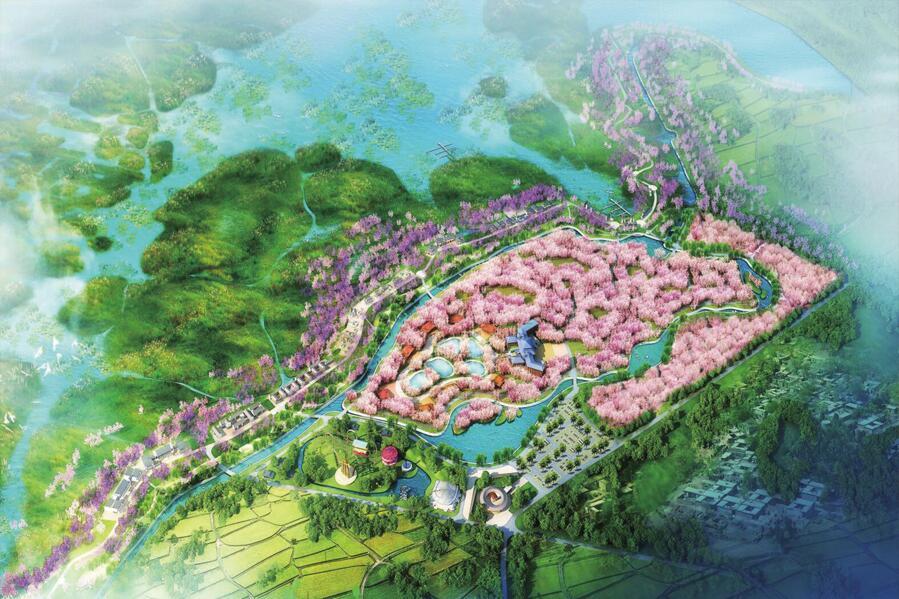 河北白洋淀?视界湾景区总体规划及4A景区创建规划