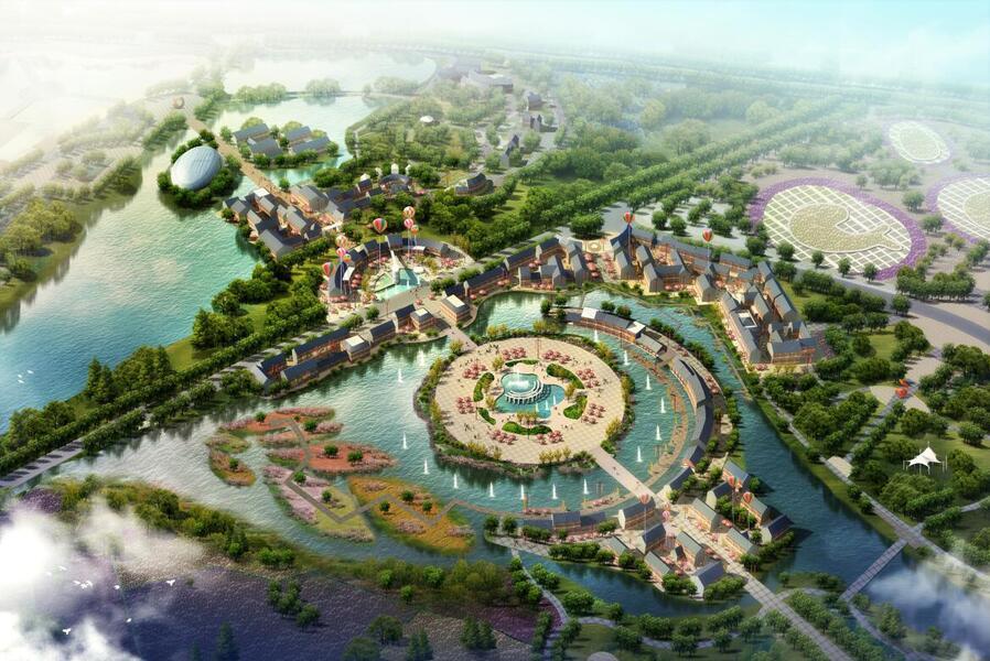內蒙古轉龍灣景區開發建設總體規劃
