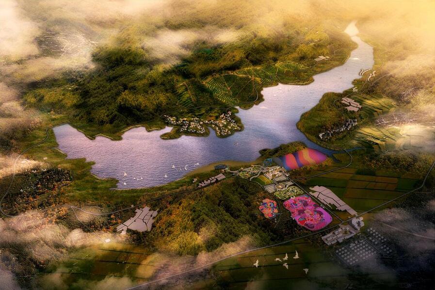 河北•龙门湖国际旅游度假区总体规划、修建性详细规划及建设方案