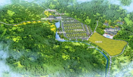中国 · 涞源太行漫谷山地运动公园总体规划